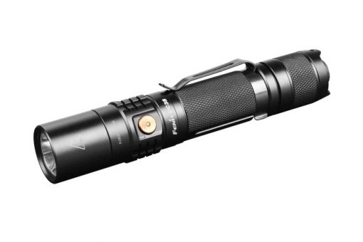 Fenix UC35 V2.0 LED Rechargeable Flashlight - 1000 Lumens Front Side