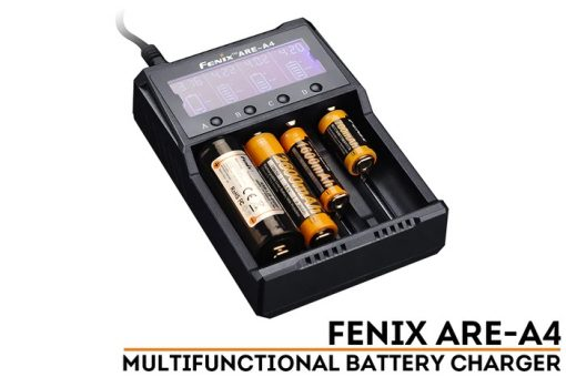 Fenix ARE-A4 Multifunctional Battery Charger Front Side With Title