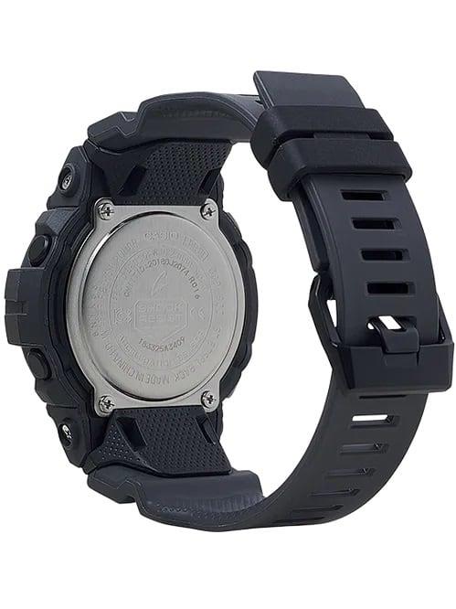 G-Shock Digital POWER TRAINER Black GBD800UC-8 Back Side Closed