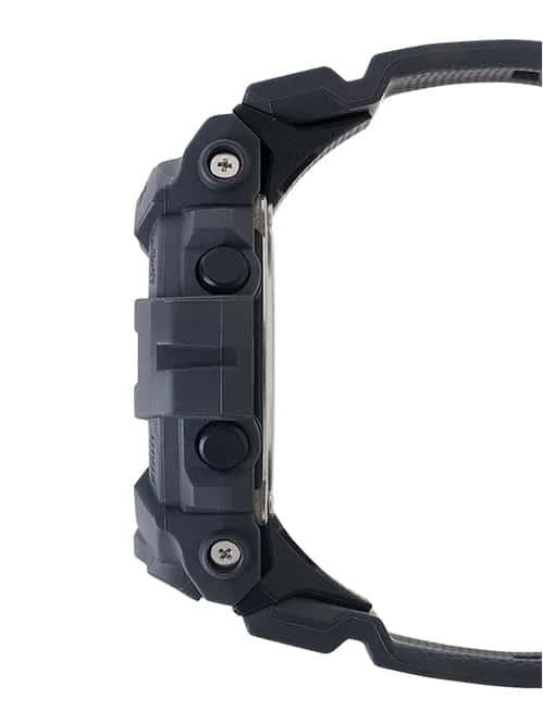 G-Shock Digital POWER TRAINER Black GBD800UC-8 Side Profile