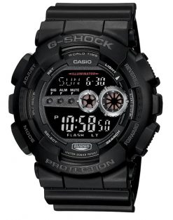 G-Shock Digital Black GD100-1B