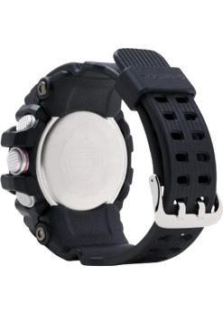 G-Shock Master of G MUDMASTER Black GG10001ACR Back Side Closed Angled