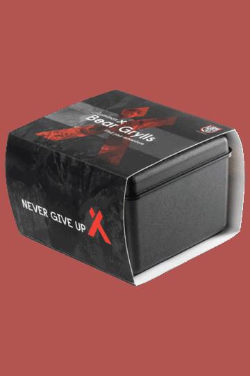 Bear Grylls Survival Chronograph MASTER Series - 3749 Black/Orange Box