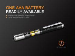 Fenix LD02 V2.0 EDC LED Penlight with UV Lighting - 70 Lumens Infographic 9