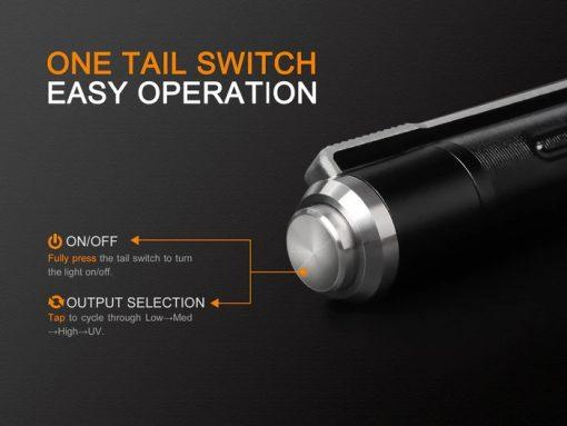 Fenix LD02 V2.0 EDC LED Penlight with UV Lighting - 70 Lumens Infographic 10