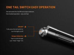 Fenix LD05 V2.0 EDC LED Flashlight with UV Lighting - 100 Lumens Infographic 11