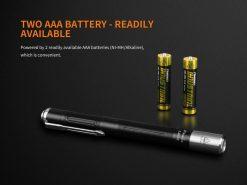 Fenix LD05 V2.0 EDC LED Flashlight with UV Lighting - 100 Lumens Infographic 12