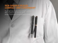 Fenix LD05 V2.0 EDC LED Flashlight with UV Lighting - 100 Lumens Infographic 5
