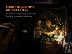 Fenix LD05 V2.0 EDC LED Flashlight with UV Lighting - 100 Lumens Infographic 7