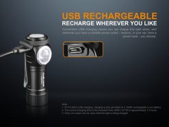 Fenix LD15R USB Rechargeable Right Angle Flashlight - 500 Lumens Infographic 7