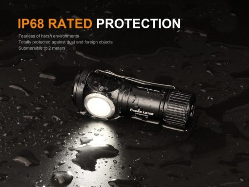 Fenix LD15R USB Rechargeable Right Angle Flashlight - 500 Lumens Infographic 12