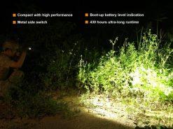 Fenix PD35 V2.0 Digital Camo Edition Tactical Flashlight - 1000 Lumens Infographic 5
