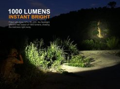 Fenix PD35 V2.0 Digital Camo Edition Tactical Flashlight - 1000 Lumens Infographic 7