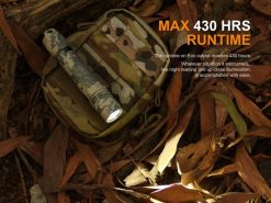 Fenix PD35 V2.0 Digital Camo Edition Tactical Flashlight - 1000 Lumens Infographic 10