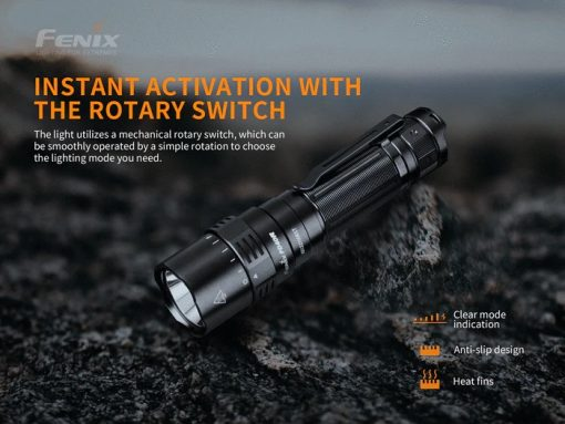 Fenix PD40R V2.0 Flashlight - 3000 Lumens Infographic 3