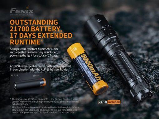 Fenix PD40R V2.0 Flashlight - 3000 Lumens Infographic 4
