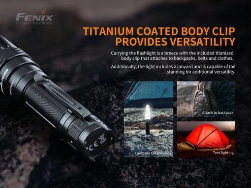 Fenix PD40R V2.0 Flashlight - 3000 Lumens Infographic 6