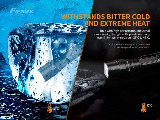 Fenix PD40R V2.0 Flashlight - 3000 Lumens Infographic 9