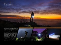 Fenix PD40R V2.0 Flashlight - 3000 Lumens Infographic 12