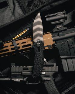 Zero Tolerance 0308 20CV Blade Coyote G-10/Titanium Handle With Background 1
