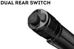 Fenix TK16 V2.0 Tactical Flashlight - 3100 Lumens Switch Close Up