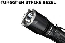 Fenix TK16 V2.0 Tactical Flashlight - 3100 Lumens Lens Close Up