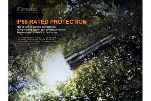 Fenix TK16 V2.0 Tactical Flashlight - 3100 Lumens Infographic 12
