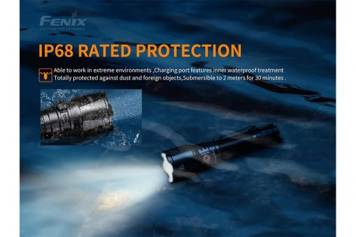 Fenix TK26R Tactical Flashlight - 1500 Lumens Infographic 10