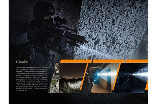 Fenix TK26R Tactical Flashlight - 1500 Lumens Infographic 14