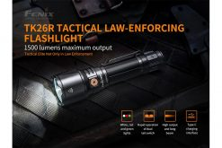 Fenix TK26R Tactical Flashlight - 1500 Lumens Infographic 1