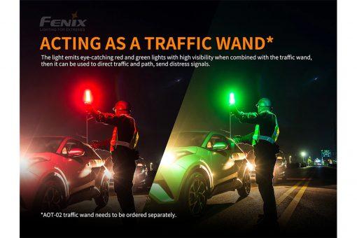 Fenix TK26R Tactical Flashlight - 1500 Lumens Infographic 3