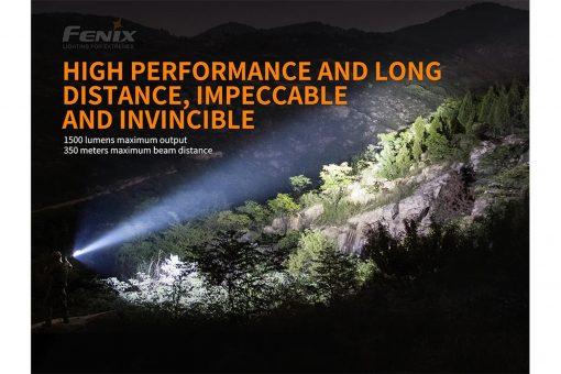 Fenix TK26R Tactical Flashlight - 1500 Lumens Infographic 6