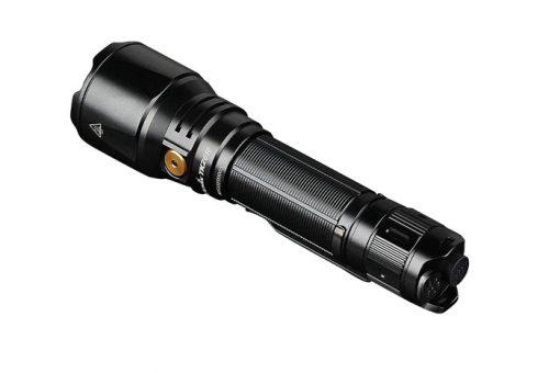 Fenix TK26R Tactical Flashlight - 1500 Lumens Back Side Angled