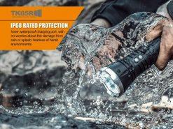 Fenix TK65R Rechargeable LED Flashlight - 3200 Lumens Infographic 5