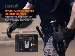 Fenix TK65R Rechargeable LED Flashlight - 3200 Lumens Infographic 2