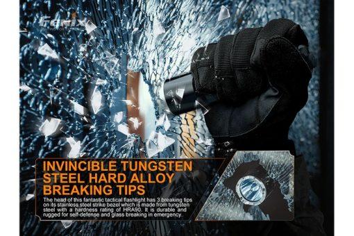 Fenix TK16 V2.0 Tactical Flashlight - 3100 Lumens Infographic 8