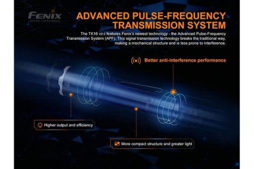 Fenix TK16 V2.0 Tactical Flashlight - 3100 Lumens Infographic 10