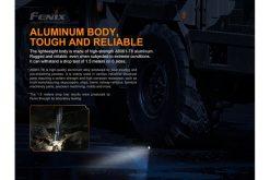 Fenix TK16 V2.0 Tactical Flashlight - 3100 Lumens Infographic 13