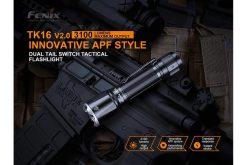 Fenix TK16 V2.0 Tactical Flashlight - 3100 Lumens Infographic 5