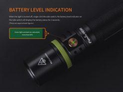 Fenix UC30 LED Rechargeable Flashlight - 1000 Lumens Infographic 12