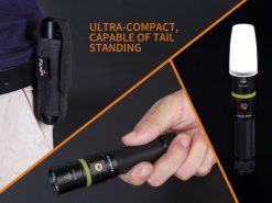 Fenix UC30 LED Rechargeable Flashlight - 1000 Lumens Infographic 14