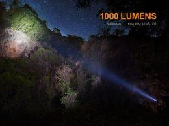 Fenix UC35 V2.0 LED Rechargeable Flashlight - 1000 Lumens Infographic 4
