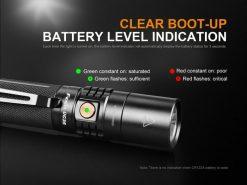 Fenix UC35 V2.0 LED Rechargeable Flashlight - 1000 Lumens Infographic 7