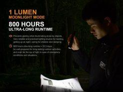 Fenix UC35 V2.0 LED Rechargeable Flashlight - 1000 Lumens Infographic 8
