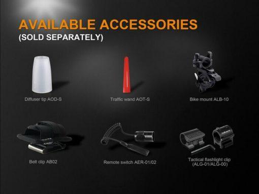 Fenix UC35 V2.0 LED Rechargeable Flashlight - 1000 Lumens Infographic 10