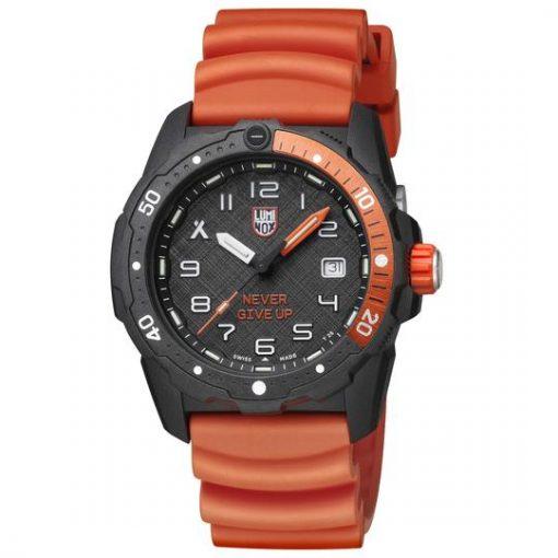 Luminox Bear Grylls Survival SEA 3720 Series 3729.NGU Black/Orange Front Side Angled