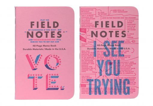 Field Notes United States of Letterpress 3 Pack C - Graph Paper Memo Books (48 Pages) Pair 2