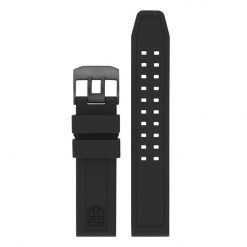 Luminox Black Rubber Strap 3050 Series - 23 mm Front Side
