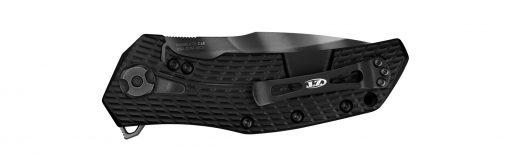 Zero Tolerance 0308BLKTS 20CV Black Blade Black G-10/Titanium Handle Back Side Closed
