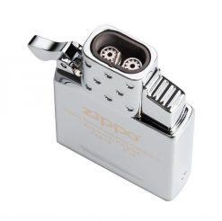 Zippo - Double Torch Butane Lighter Insert Front Side Overhead Angled